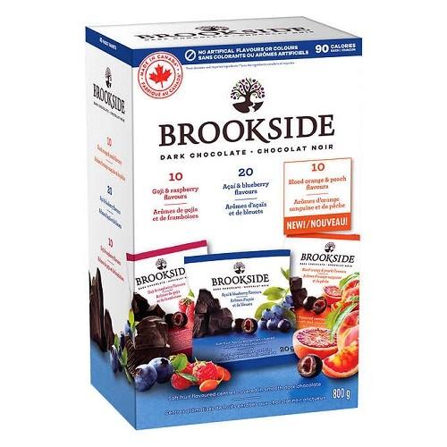 Brookside Dark Chocolate Assorted Flavours, 40packs (800G)