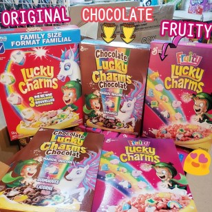 LUCKY CHARMS CEREAL - FRUITY 340g