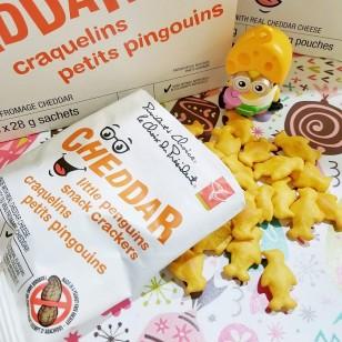 PC Little Penguins Cheddar Snack Crackers (30packs)