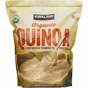 KIRKLAND ORGANIC QUINOA (2.04kg)